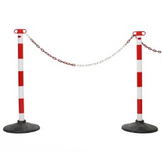 JSP Post And Chain Barrier Kit - Multiple Colours