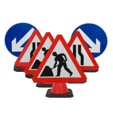 Cone Sign Works Package -  (Cones Sold Separately)