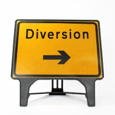 Diversion Right Sign - Q-Sign