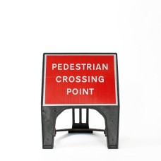 Pedestrian Crossing Point Sign - Q-Sign