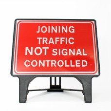 Joining Traffic NOT Signal Controlled Sign - Q-Sign