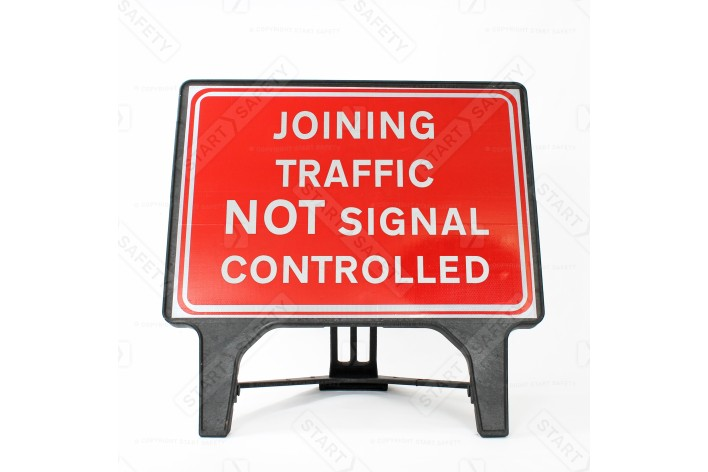 Joining Traffic NOT Signal Controlled - Q-Sign 7022