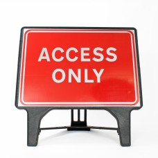 Access Only Sign - Q-Sign
