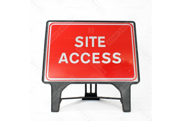 Site Access Sign - Q-Sign