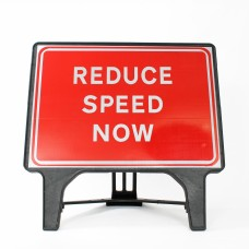 Reduce Speed Now - Q-Sign