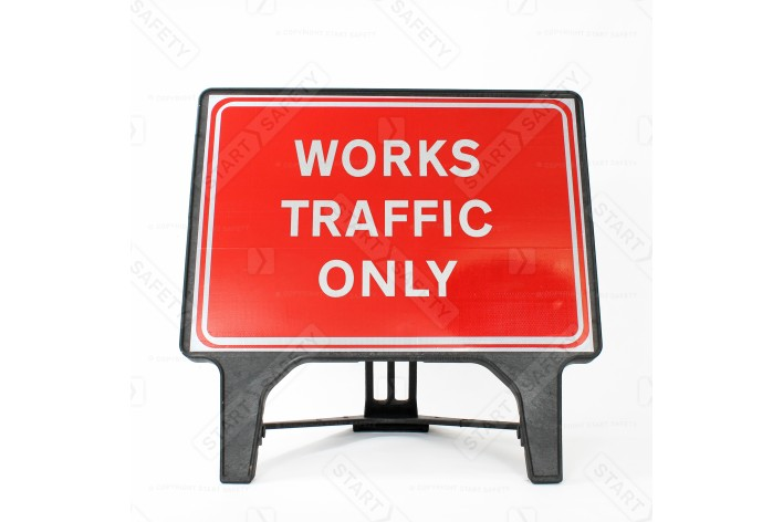 Works Traffic Only - Q-Sign 7301