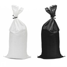 SandBags - White / Black Polypropylene (Empty / Unfilled)