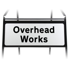 Overhead Works Supplementary Plate - Metal Sign