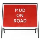 Mud on Road Sign - Zintec Metal Sign Face