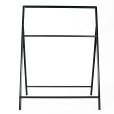 1050 x 450mm Rectangular Long Legs - Metal Road Sign Frame