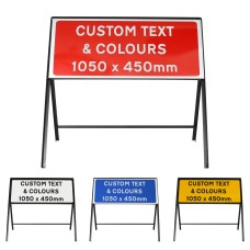 Custom 1050x450mm Sign Face  - Metal Road Sign - Face Only