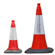 Red Dominator Traffic Cone 500mm and 750mm
