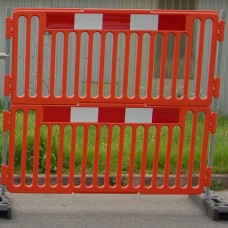 Anti Climb Plastic 2 Metre Fence / Safety Barrier - Barriers