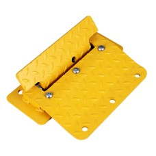 Car Flow Plates, Surface Mounted - Includes Fixings - Yellow