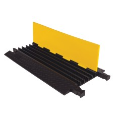 5 Channel Yellow Jacket Cable Protector Ramp YJ5-125