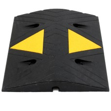 SiteCop Mini Compact 50mm Rubber Speed Bump - Fixings Included