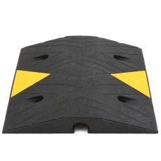 SiteCop Standard 70mm Rubber Speed Bump - Fixings Included