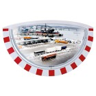 Vialux Wide Angle Traffic Mirror 180-Degree Vision