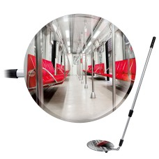 Inspection Mirror | Telescopic Option with LED Light | Vialux