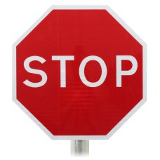 STOP Sign, Post Mounted Diagram 601.1 R2/RA2
