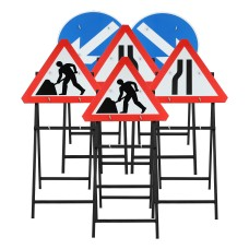 Quick Fit Road Sign Package   Chapter 8 Compliant   750mm