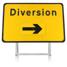 Diversion Rotating Arrow Sign Diagram 2702 |Quick Fit (face only)
