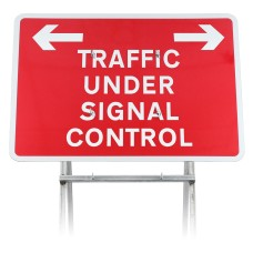 'Traffic Under Signal Control' Sign Diagram 7021 |Quick Fit (face only)
