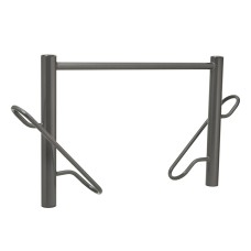 Province Duo Bike Stand Galvanised & Painted