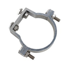 76mm Aluminium Offset Clamps (Uniclamps) For Signage