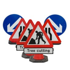 Cone Sign Tree / Hedge / Grass Cutting Package -  (Cones Sold Separately)