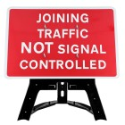 Joining Traffic Not Signal Controlled Sign QuickFit EnduraSign Dia 7022| 1050x750mm