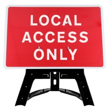 Local Access Only Sign QuickFit EnduraSign Dia 7010.1| 1050x750mm