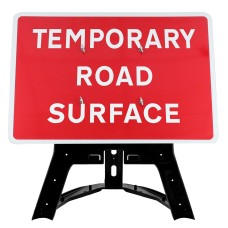 Temporary Road Surface Sign QuickFit EnduraSign Dia 7012 | 1050x750mm