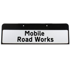 Mobile Road Works Sign QuickFit EnduraSign Drop Supplementary Dia 7001.1 | 870x275mm (face only)