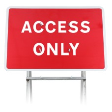 'Access Only' | Quick Fit Sign (face only)