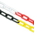 8mm Plastic Barrier Chain -Multiple Colours 25M