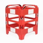 20 x Red 4-gate Safegate Barrier Full Pallet Package