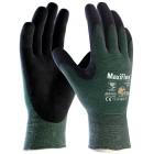 ATG MaxiFlex Cut Gloves 34-8743 Palm Coated Knitwrist Pair