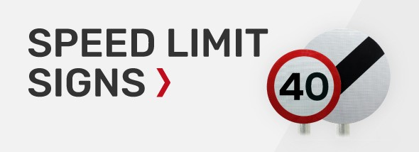 Buy speed limit signs with rear channels