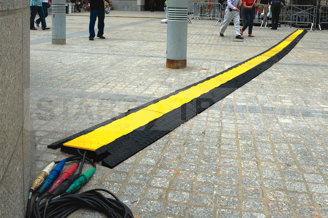 Cable Protector in pedestrian area