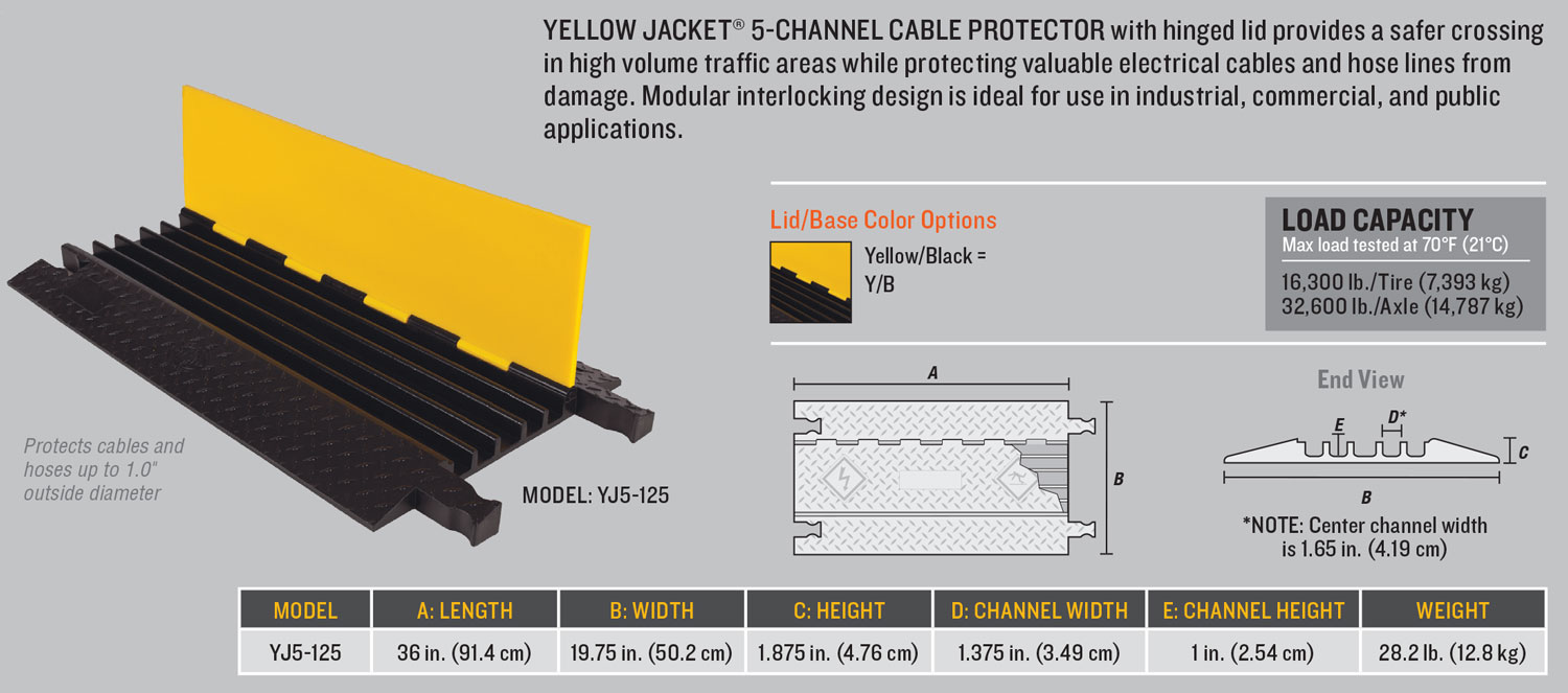 Yellow Jacket YJ5-125 Technical Diagram