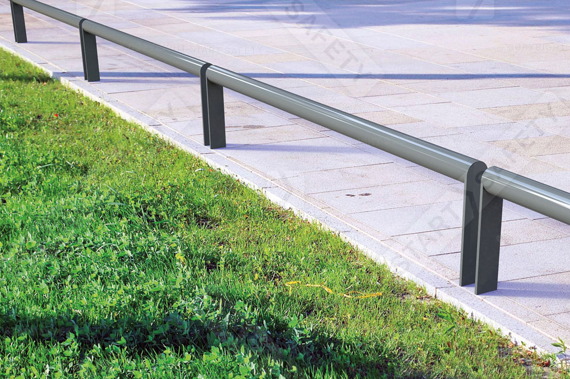 Motorcycle security rail