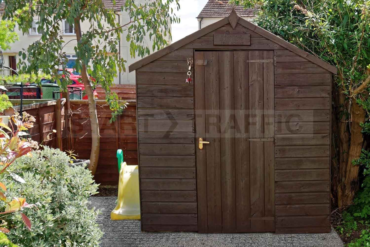 shedGrid used in garden