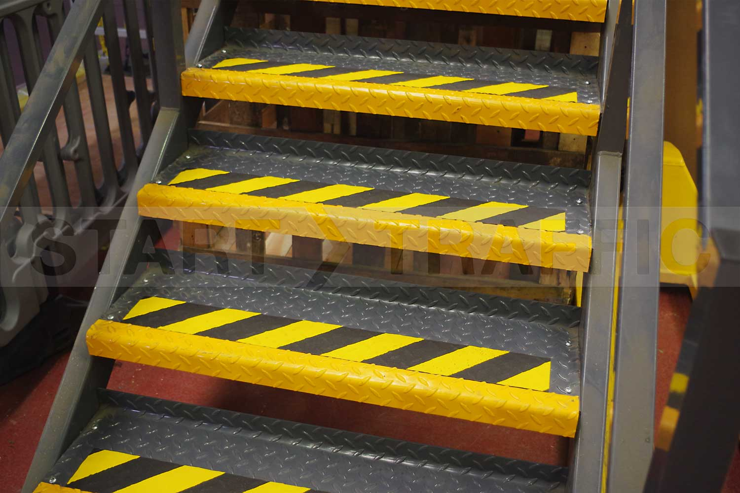 PROline anti-slip paint on steps