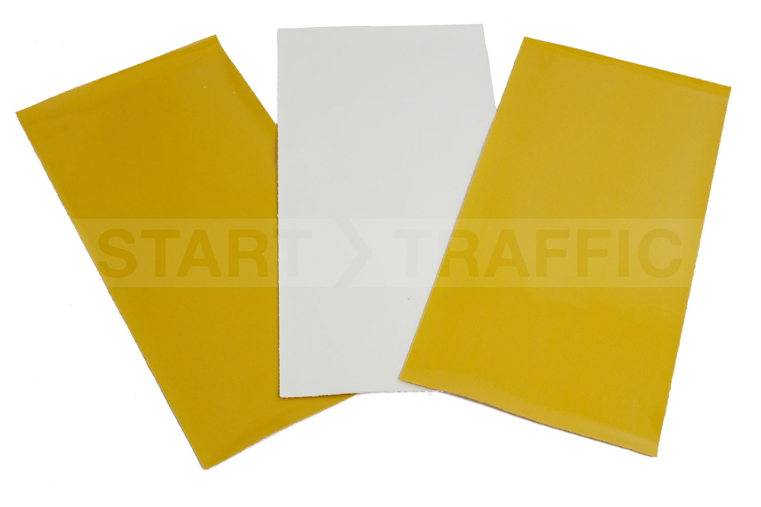 1000mm x 500mm White Thermoplastic Sheets