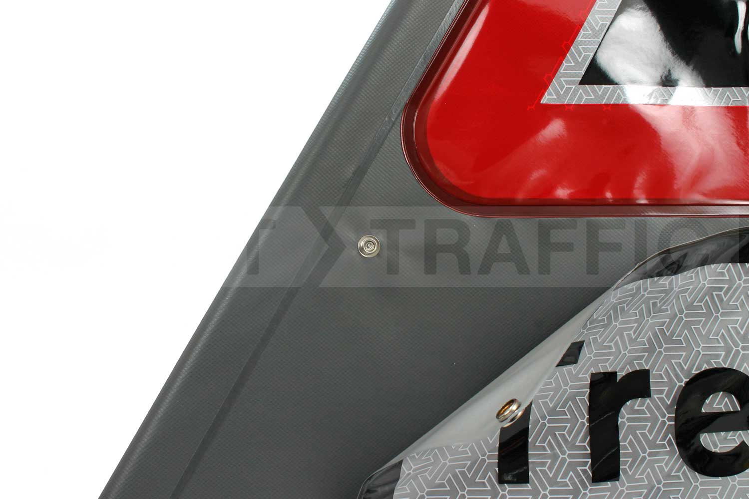 Photo Of Roll Up Sign On Verge