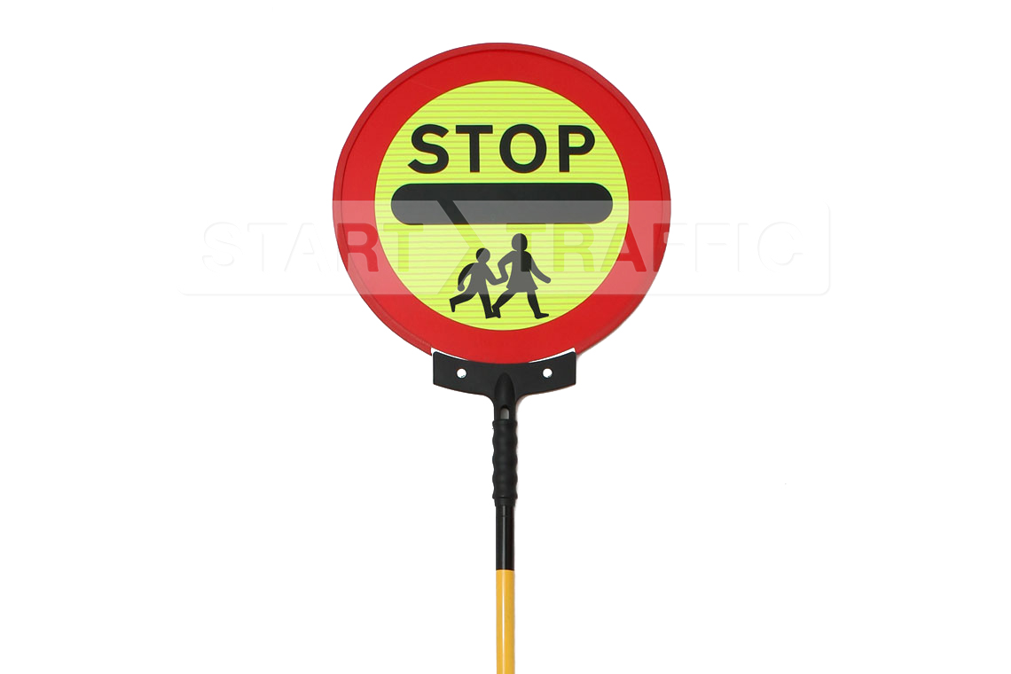 Stop Children Sign Face