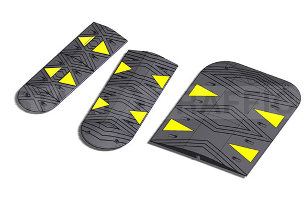 Image Showing Different Sizes Of SiteCop Speed Bumps
